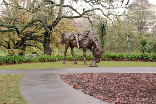 Artist Matt Gaudie's War Horse Statue Concept