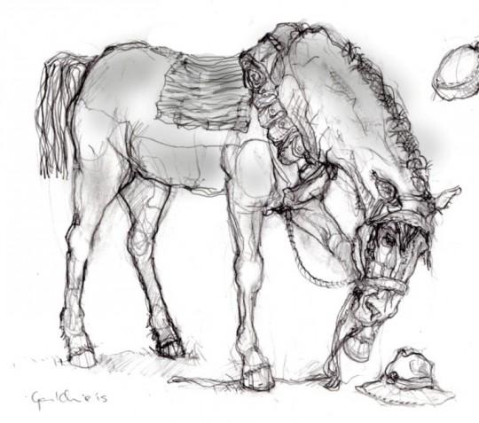 Matt Gauldie's Original Sketch